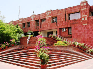 The JNU campus. Image courtesy: www.jnu.nic.in