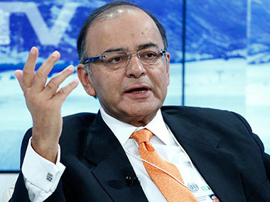 Union Finance Minister Arun Jaitley. Image courtesy: agencies