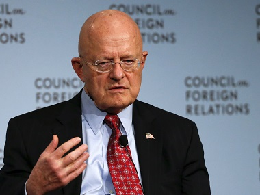 Paranoid Russia can push itself to enter into new Cold War with US says intelligence chief James Clapper