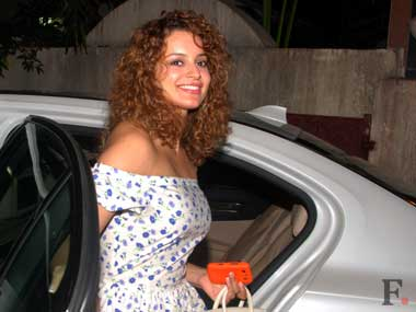 Kangana has said that she was angered when a crewmember insisted she use a body double for a shot