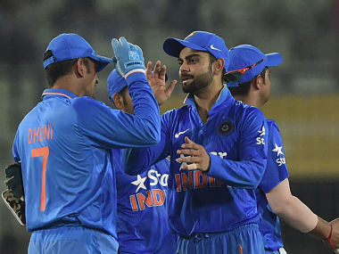 India would look to continue their momentum against Sri Lanka. AFP