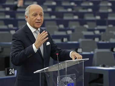 Outgoing French Foreign Minister Laurent Fabius in a file photo. Reuters