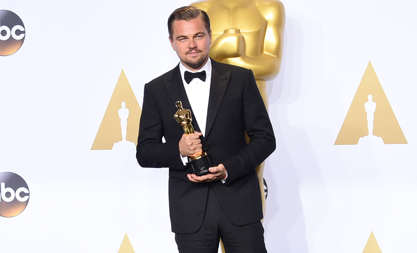 Leonardo DiCaprio finally captured the elusive trophy. Getty Images
