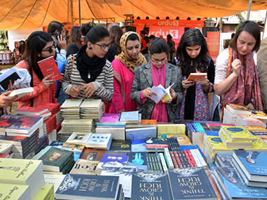 Lahore Literary Festival. AFP