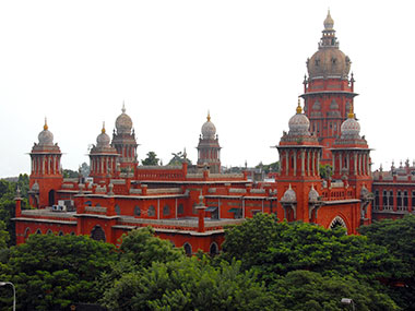 Madras High Court. Image Courtesy: Wiki Commons/Yoga Balaji