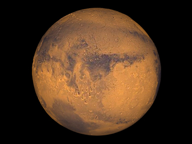 File photo of Mars. Reuters