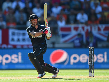 McCullum was the first captain to lead New Zealand to a World Cup final. Getty Images