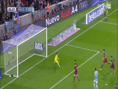 The sensational penalty. Screengrab from YouTube