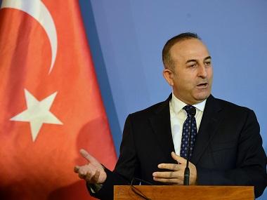 Turkish Foreign Minister Mevlut Cavusoglu. AFP