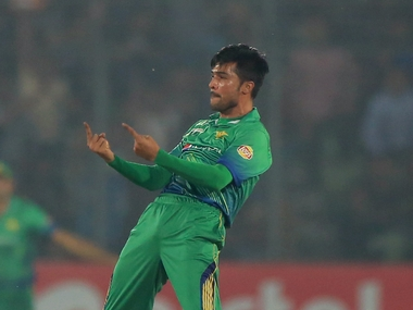 File picture of Mohammad Amir. AFP