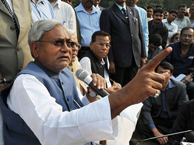 Nitish Kumar holds high-level meeting over law and order situation in Bihar