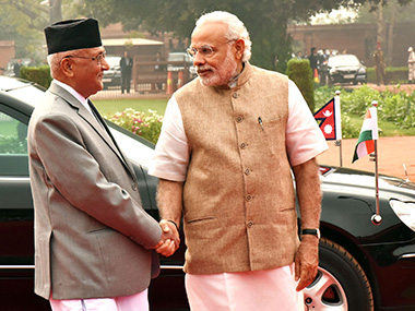 No question of favouring either India or China Nepal PM KP Sharma Oli