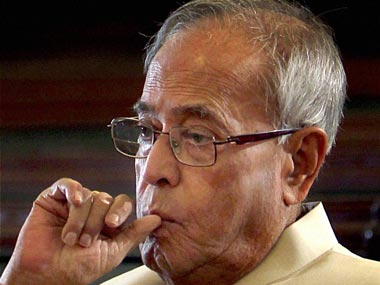 Pranab Mukherjee in a file photo. PTI