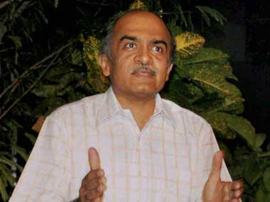 Prashant Bhushan. File photo. PTI