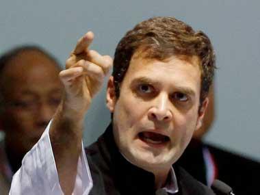 File Photo of Rahul Gandhi. PTI