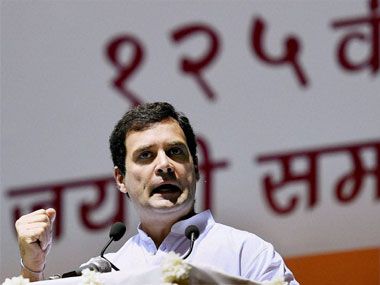 Rahul Gandhi said the BJP government is attacking programmes like NREGA. PTI