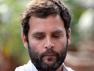 #SeditionDebate: Those trying to crush you are making you stronger, says Rahul Gandhi at