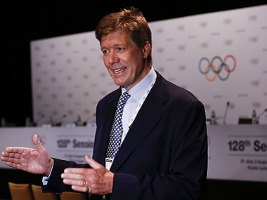 File image of Richard Budgett, IOC medical director. AP