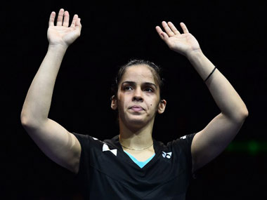 File image of Saina Nehwal. AFP