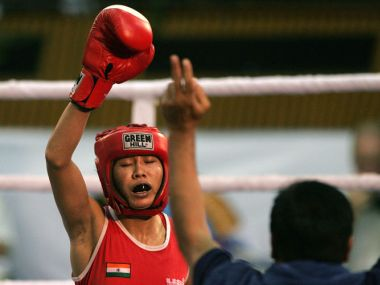 File image of Sarita Devi. AFP