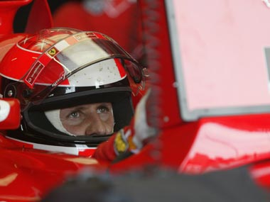 File photo of Michael Schumacher. Getty Images
