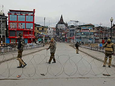 Curfewlike restrictions imposed in Kashmir valley to prevent protests called by separatists