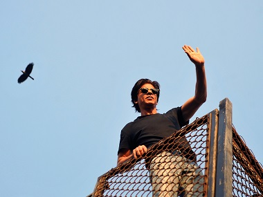 Shah Rukh Khan in a file photo. AFP