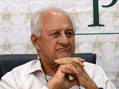 Pakistan Cricket Board (PCB) chairman, Shaharyar Khan speaks during a press conference in Lahore on June 3, 2015. Maverick opener Ahmed Shehzad earned a recall in Pakistan's 15-man Test squad for the three-match Test series in Sri Lanka after being sidelined over disciplinary problems. Pakistan and Sri Lanka will also play five one-dayers and two Twenty20 internationals, for which squads will be announced later. AFP PHOTO / ARIF ALI
