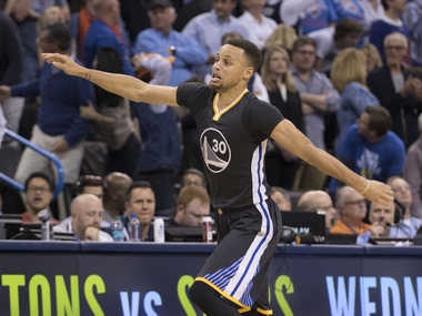 Golden State Warriors' Stephen Curry. Getty