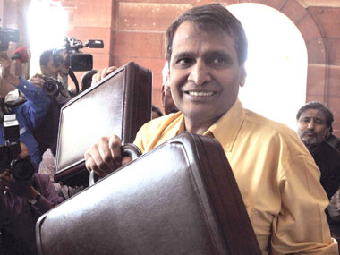Union Railway Minister Suresh Prabhu. PIB