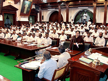 File image of the Tamil Nadu Assembly. PTI