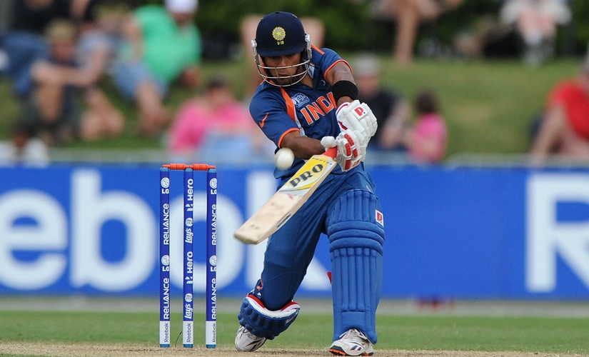 Unmukt Chand led India to its third U-19 World Cup win in 2012 in Australia. Getty