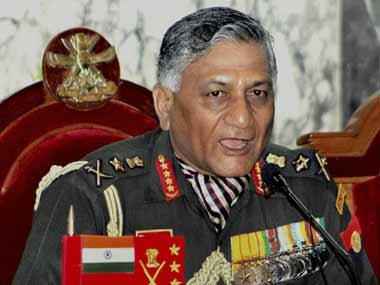 Former army chief V K Singh calls for improving civilian-military relations