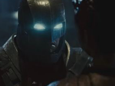 YouTube screengrab of the final Dawn of Justice trailer.