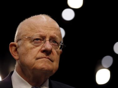 US intelligence chief James Clapper. Reuters