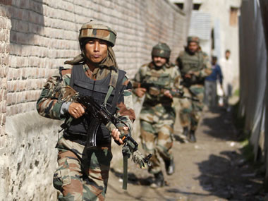 Army troops bust terrorist hideout in Jammu, seize large quantity of arms and ammo