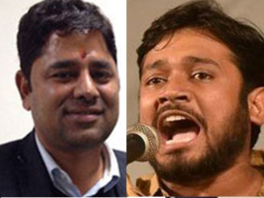 Kanhaiya Kumar bail plea comes up today goon lawyers caught on video celebrating Patiala House assault