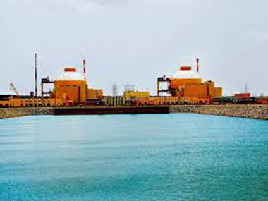 The Kudankulam Nuclear Power Plant. PTI