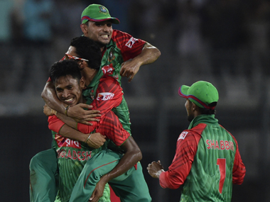 File image of Mustafizur Rahman. AFP