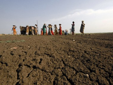 VIllagers carrying out MGNREGA work. File photo. Reuters