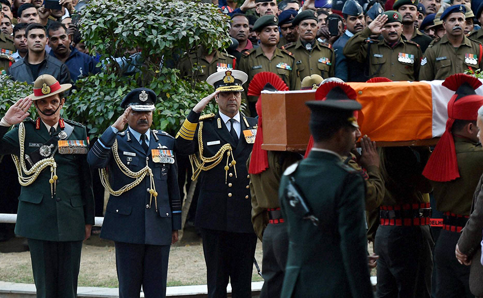 Final journey of Lance Naik Hanumanthappa Koppad