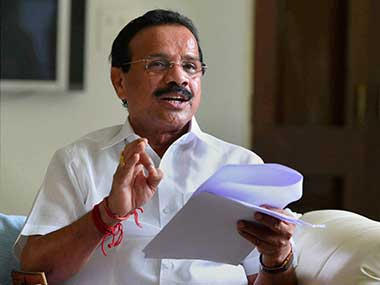 File image of Union Law Minister Sadanand Gowda. PTI