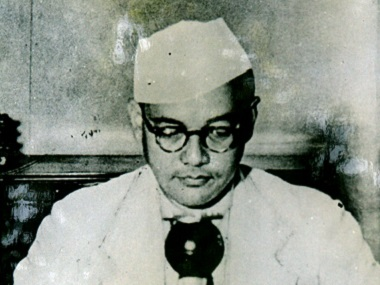 Handout portrait of Netaji Subhash Chandra Bose that is on display at the Netaji Research Bureau in Calcutta. Reuters