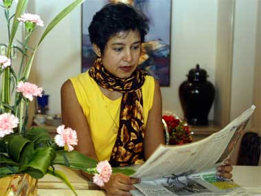 Taslima Nasreen joins 'India is tolerant' chorus', questions selective outrage of