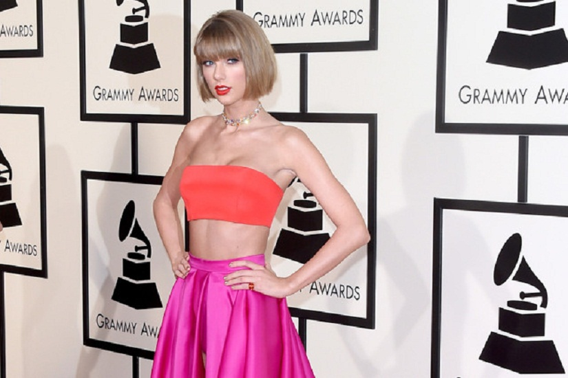 LOS ANGELES, CA - FEBRUARY 15: Musician Taylor Swift attends The 58th GRAMMY Awards at Staples Center on February 15, 2016 in Los Angeles, California. (Photo by Jason Merritt/Getty Images for NARAS)