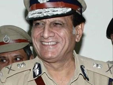 Former Delhi Police commissioner YS Dadwal.  Image from Twitter