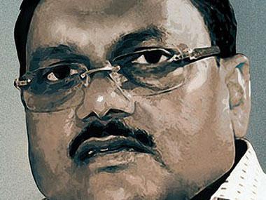 Former Noida Authority chief engineer Yadav Singh. Twitter/@IBNLive
