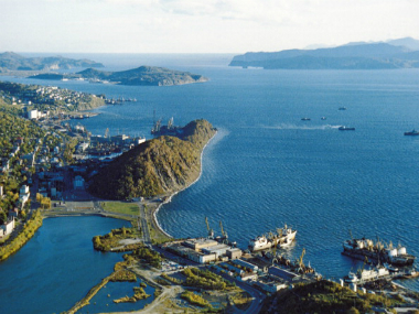 The port city of petropavlovsk - kamchasky in kamchatka, Siberia, Russia. Getty Images
