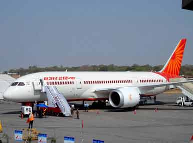 Passengers evacuated from Air India plane after pilot sees smoke
