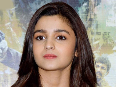 Alia Bhatt says a film should be made on the lives of her sisters. Image from IBNlive